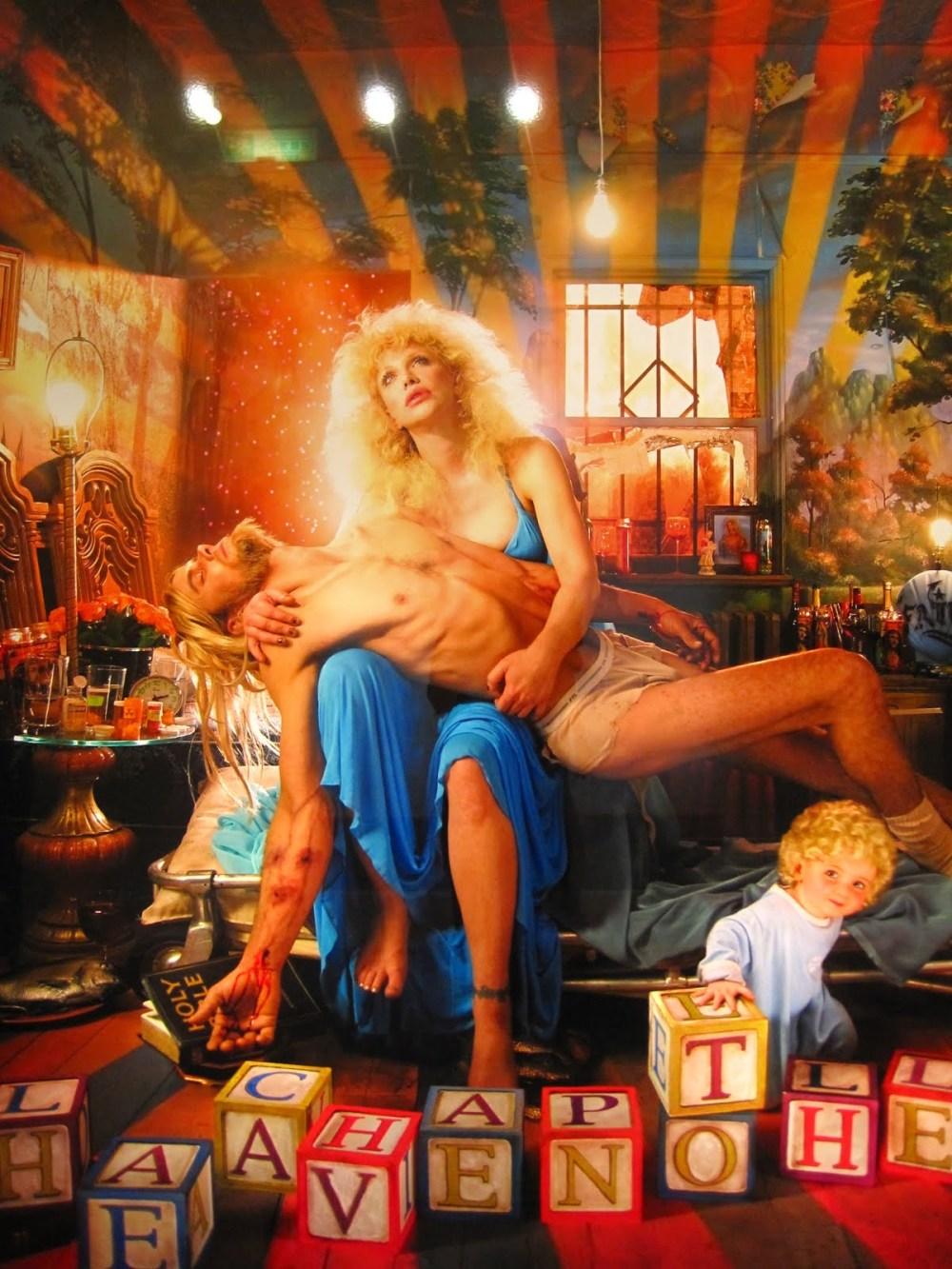 Courtney Love: Pietá (2006). © David LaChapelle